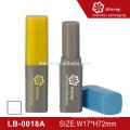 Neue Einzigartige transparente quadratische Eco Lip Balsam Tube