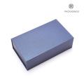 Livre de luxe forme facile pack pliage boîte de papier