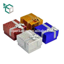 Antique Style Wedding Paper Packaging Ring Box For Jewelry