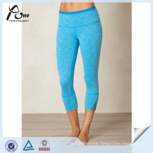 High Quality Dry Fit Capri Custom Supplex Yoga Leggings for Women