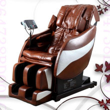 2014 melhor luxo 3D gravidade Zero cadeira de massagem