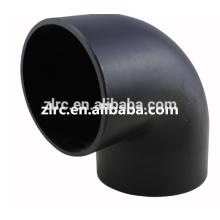 La tubería de HDPE que encaja 45degree el adaptador del reborde del extremo del trozo de la camiseta del codo del hdpe 90degree
