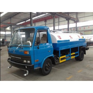 Dongfeng portable plastic slimline water tanks truck