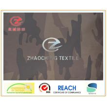 300t Poly Taffeta Desert Camouflage Printing PU Coated Fabric (ZCBP141)