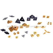 Cemented Carbide Inserts PVD Coating Grade For Milling Inserts