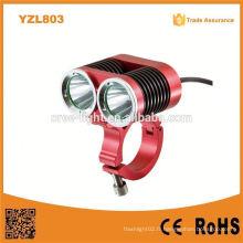 Yzl803 Professional Xml T6 LED Super Bright 1500lumens étanche LED Bike Light LED Bike Headlight