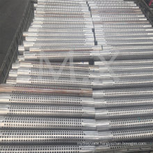 Manufacturer Supplier 436L/439/441/409L Perrorated Stainless Pipes Suh409L 45X1.0X289.50mm
