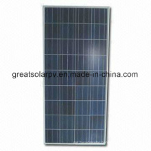 Good Efficiency 130W Poly Solar Panel with Professional Skill Manufactures in China
