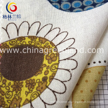Cotton Linen Cartoon Printed Fabric for Bags Textile (GLLML123)