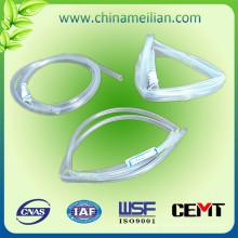 Funda flexible de goma de silicona transparente
