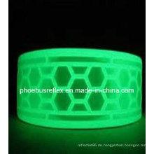 Glühen Sie im dunklen PVC Reflektorband