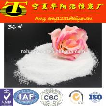 Grão de alumínio fundido branco com Al2O3 99%
