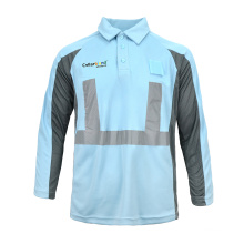 T-shirt de sécurité pour vêtements de travail de construction