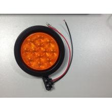 4 pulgadas redondo LED cola de la lámpara para camiones y remolques