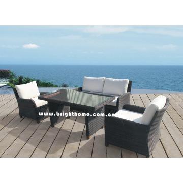 New Garden Sofa Set - Wicker Outdoor Furniture (BP-588D)