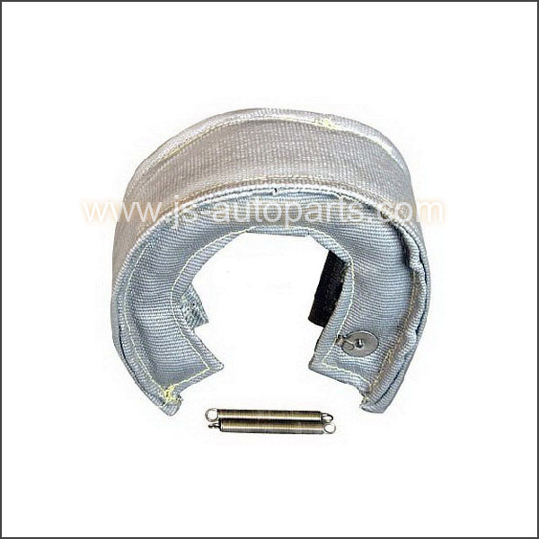 T4 WHITE TURBO CHARGER HEAT SHIELD BLANKET FIBER
