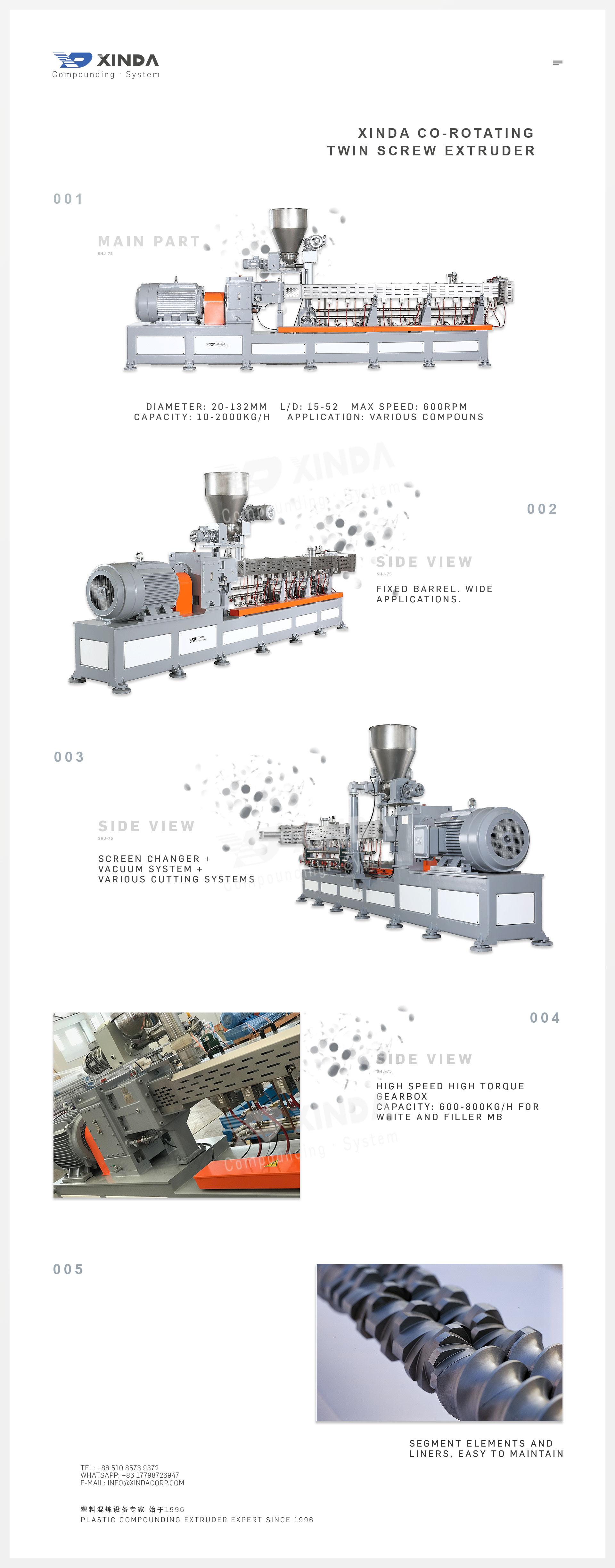 PVC Granule Making Equipmemt