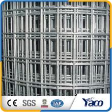 materiales de construcción 2x2 malla de alambre soldado con autógena galvanizado para el panel de la cerca, tipo soldado de la malla y jaula de pájaro de la aplicación