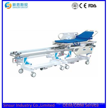 Medical Instrument Hospital Connecting Transport Stretcher