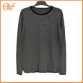 Men Black-white Vintage Inner Sweater