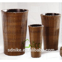 rattan flower pot / rattan flower planter