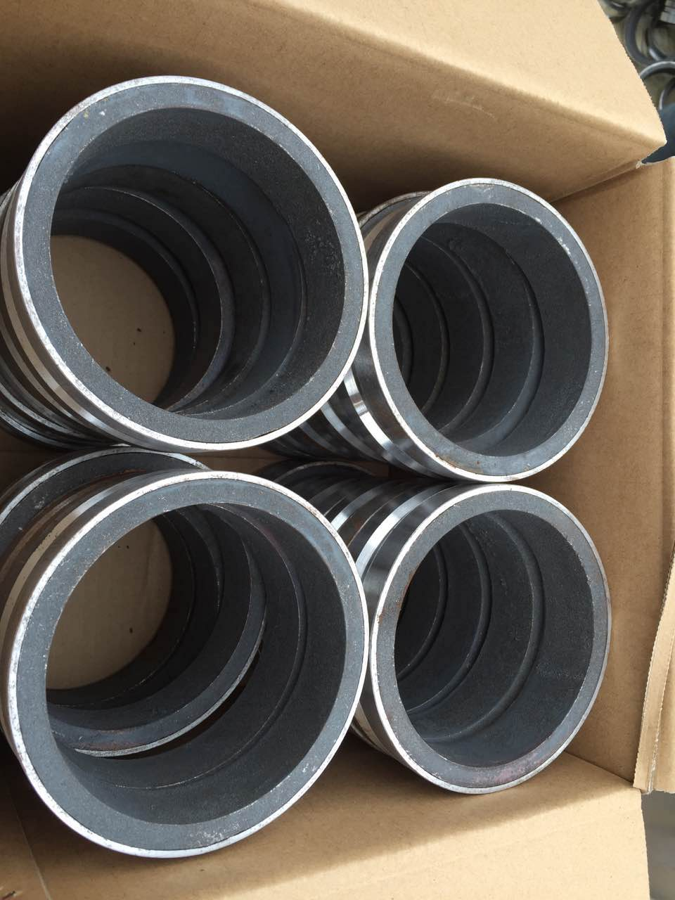 double layer flange