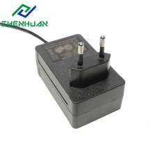 Adaptador de plugue europeu de saída de 36 W 24 VCC para Pos