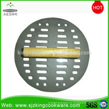 Cocina de alta calidad de hierro fundido tocino / prensa de carne