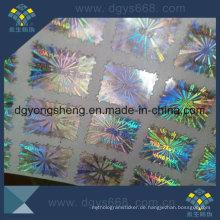 Punkt-Matrix-Laser-Aufkleber-Drucken