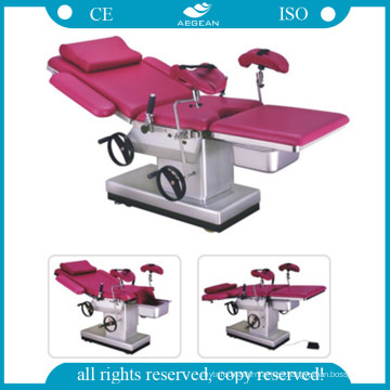 Hot Sale! AG-C102c Cheap Manual Hydraulic Gyn Table