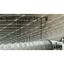 Fixed Knot woven wire horse fence