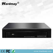 H.265 16CHS POE 4K Video Jaringan NVR