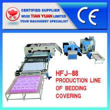 Línea de producción de ropa de cama de alta calidad