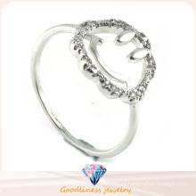 Moda y venta caliente 925 anillo de joyería de plata de ley (R10258)