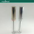 Round Empty Plastic Lip Gloss Packaging Tube