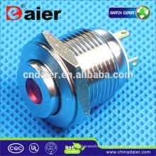 Daier GQ16H-10D Metal Push Button Switch