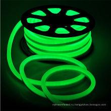 Защиты IP65, 24В, 4.32 Вт 432LM на фут РА cri 80 3000К DOT Бесплатная СМД 3014 кремния полный светодиодные ленты Фламинго неоновый свет