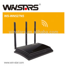 concurrent high power wifi router,450Mbps dualband wireless router with 3 External antennas