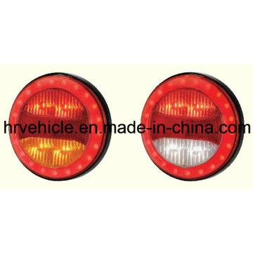LED de forme ronde Stop Turn Tail Light for Trucks