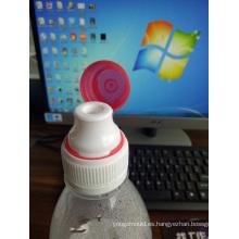 Botella de agua con tapa antirrobo Molde de tapa