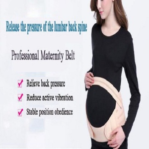 Post pregnancy maternity pads with support belly belt