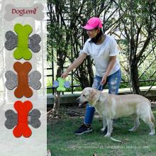 Agility pet product atacado natureza sentiu frisbee dog toy