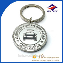 High Quality Cool 3d Laser Engraving Metal Keychain