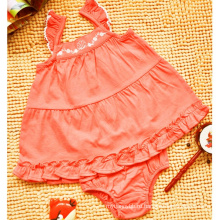 Девочки детская одежда вязаная из двух частей удобная