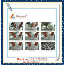Saco de filtro acrílico do coletor da poeira