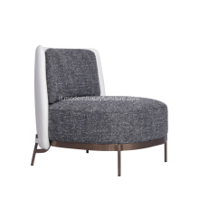 Minotti Tape Lounge Chair con braccioli