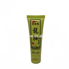 30 ml pequeña muestra medicinalmente ungüento tubos envases de plástico