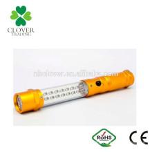 Aluminum AAA battery 16+6 LED magnetic multifunctional led work light