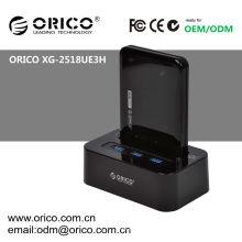 ORICO XG-2518UE3H USB3.0 estación de acoplamiento Mobileusb, acoplamiento de HDD con HUB