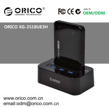 ORICO XG-2518UE3H USB3.0 Mobileusb docking hub station, HDD docking with HUB
